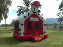 Dalmatian Fire-House Dog Bounce