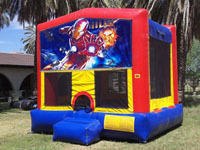 Iron Man Super Hero Bounce
