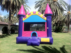 Pink and Purple Bouncy Castle