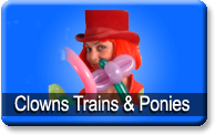 Clowns, Trains, and Ponies