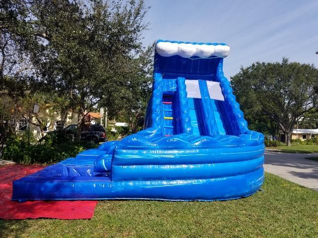 The Double Twister Water Slide