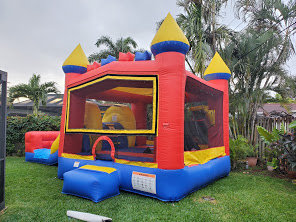 4in1 castle Combo Combo with water slide