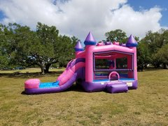 4in1 Pink Multi theme Combo with water slide