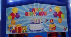 Happy Birthday presents Banner