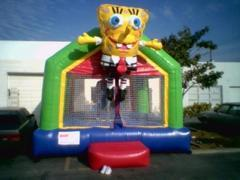 Package Themed Bouncer Sponge Bob