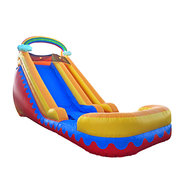 18′ RAINBOW CLOUD SUPER WET/DRY SLIDE