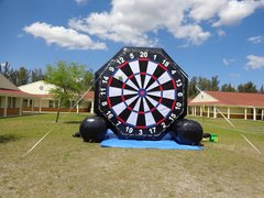 Giant Soccer rental /Darts Two sided