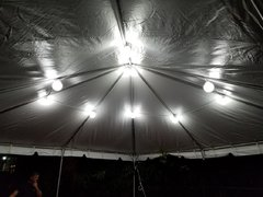 20by20 Tent lights