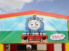 Tom The Train Banner