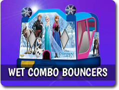 Wet Combo Bounce Houses