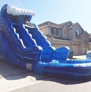 18ft Wave Slide