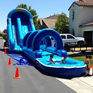 Blue Slide Slip & Slide