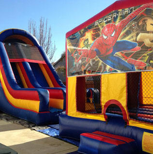 Super Slide Spiderman Bounce