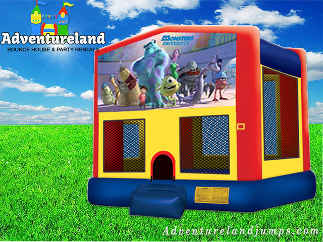Monsters Bounce House