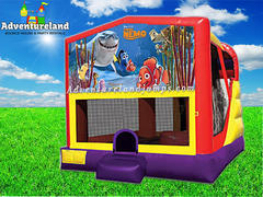 Finding Nemo Bounce House Water Slide