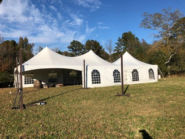 20x60 tent for weddings
