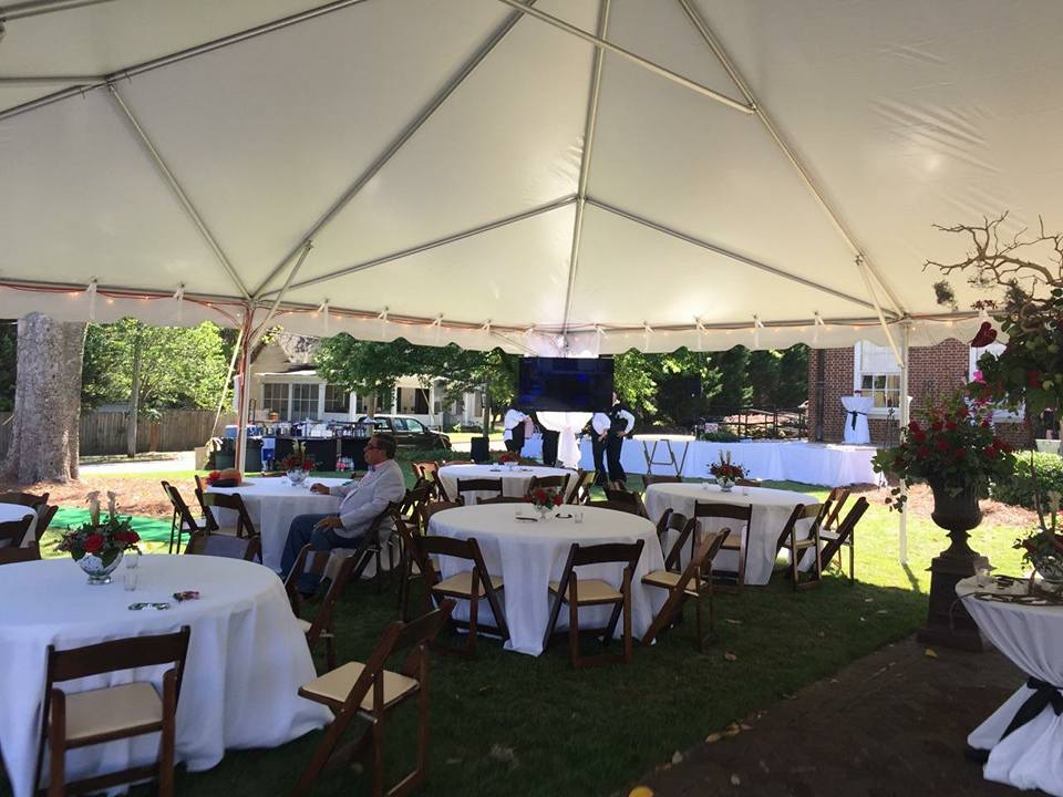 30x45 large wedding tent rentals newnan ga