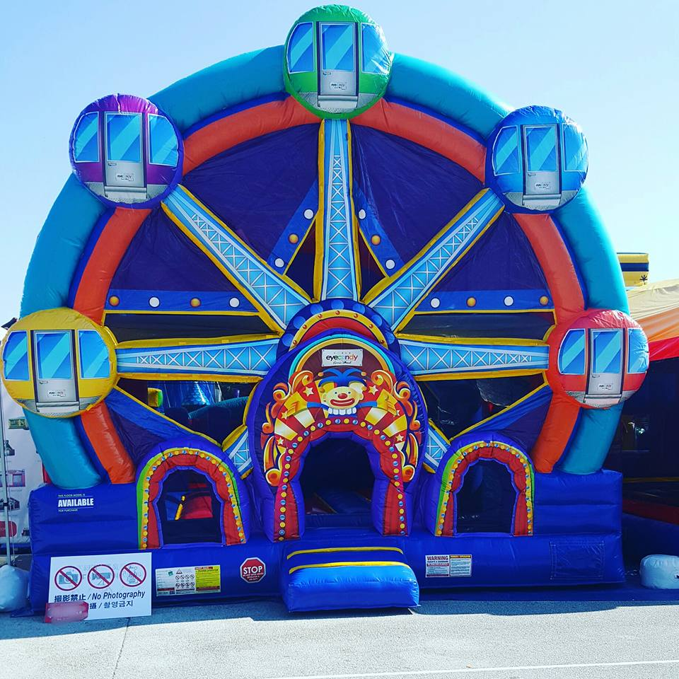 Ferris Wheel Inflatable Bounce House