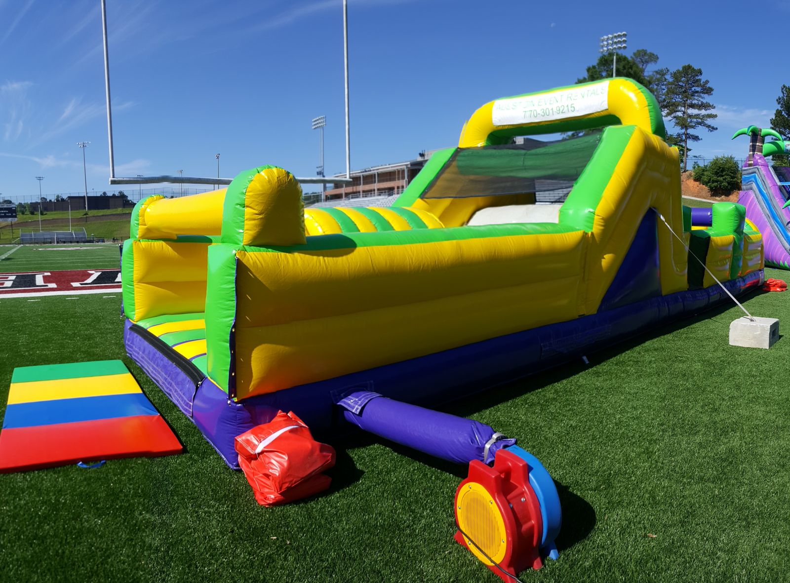 Obstacle Course Inflatable game rental Newnan