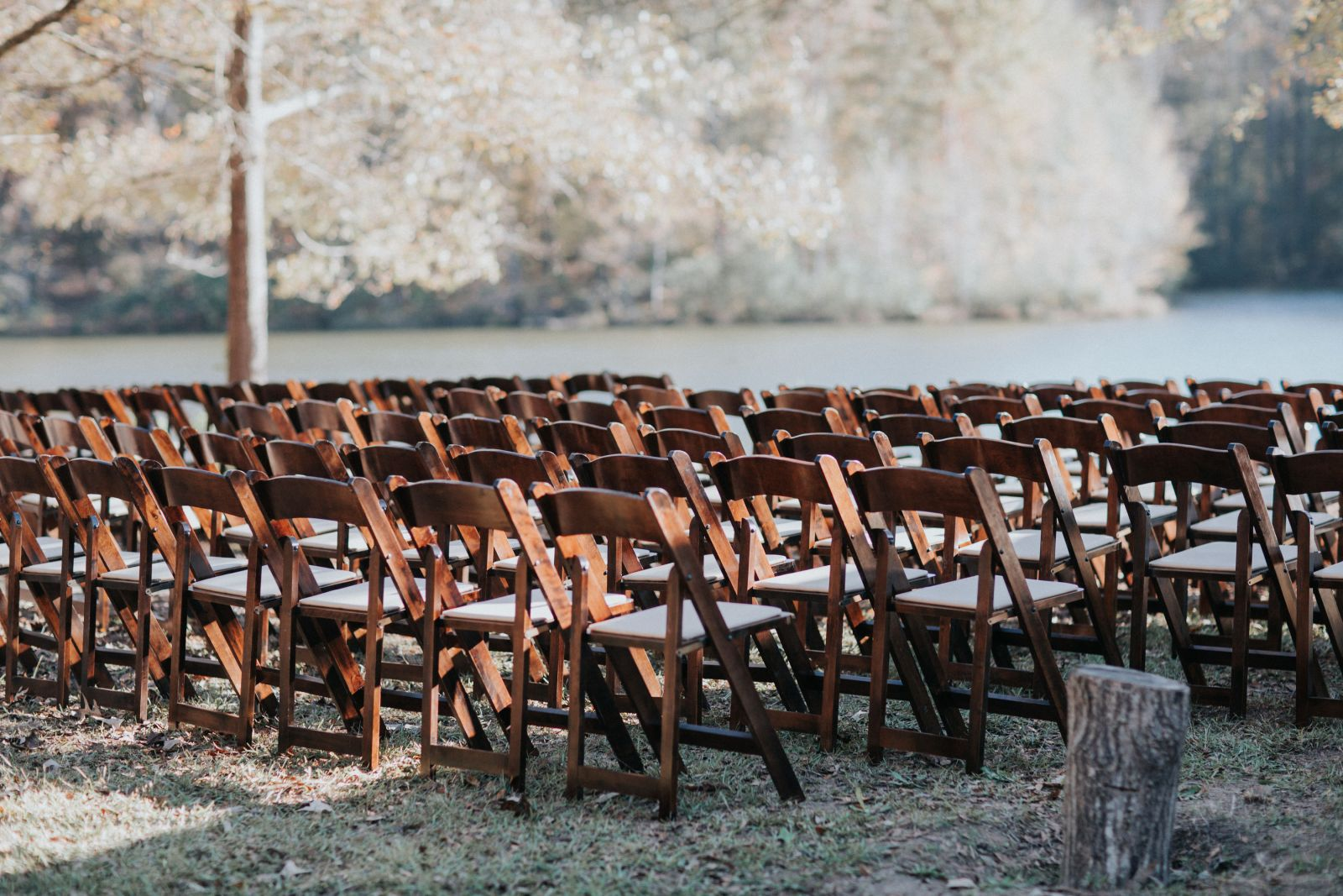 fruitwood chairs rental