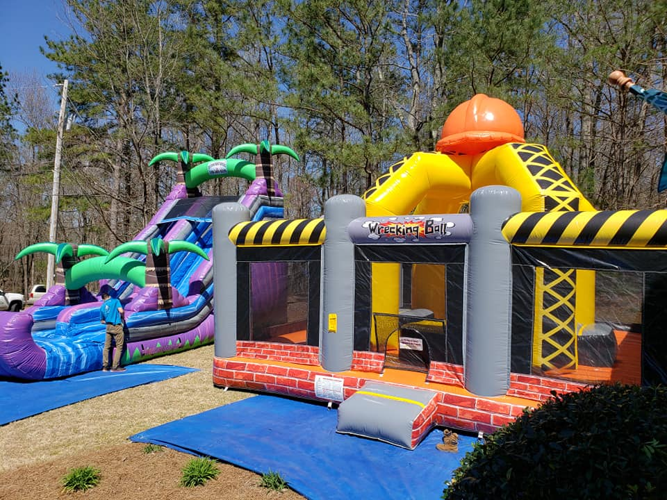inflatable rentals newnan