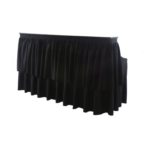 Bar Riser Skirting Black 96