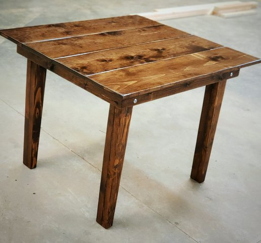 Wooden Cake Table
