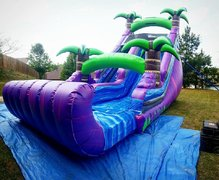 18ft Tropical Purple Crush Dry Slide