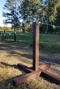 4 ft Wooden Stanchions