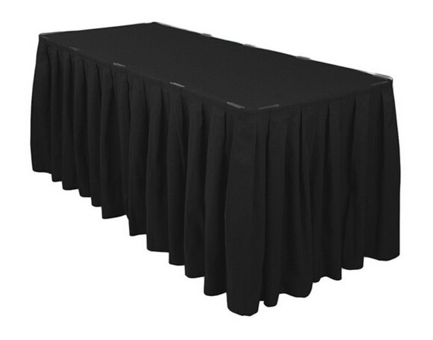 Black Table Skirts