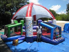 Soccer Dome Bounce House