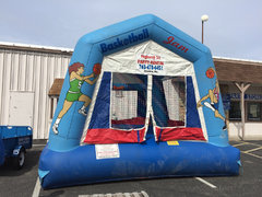 Basketball Jam Bounce House