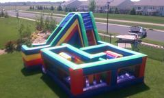 Obstacle Course with Slide