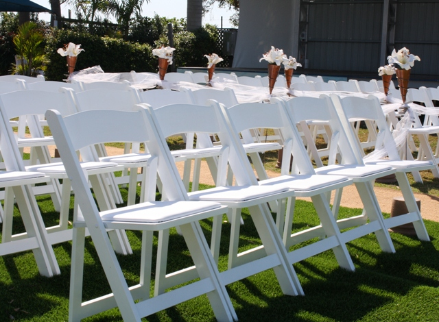 Resin Chairs Rentals Los Angeles | L.A Inflatables Rental