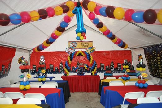Maywood Jumpers Los Angeles Balloon Decoration Bounce