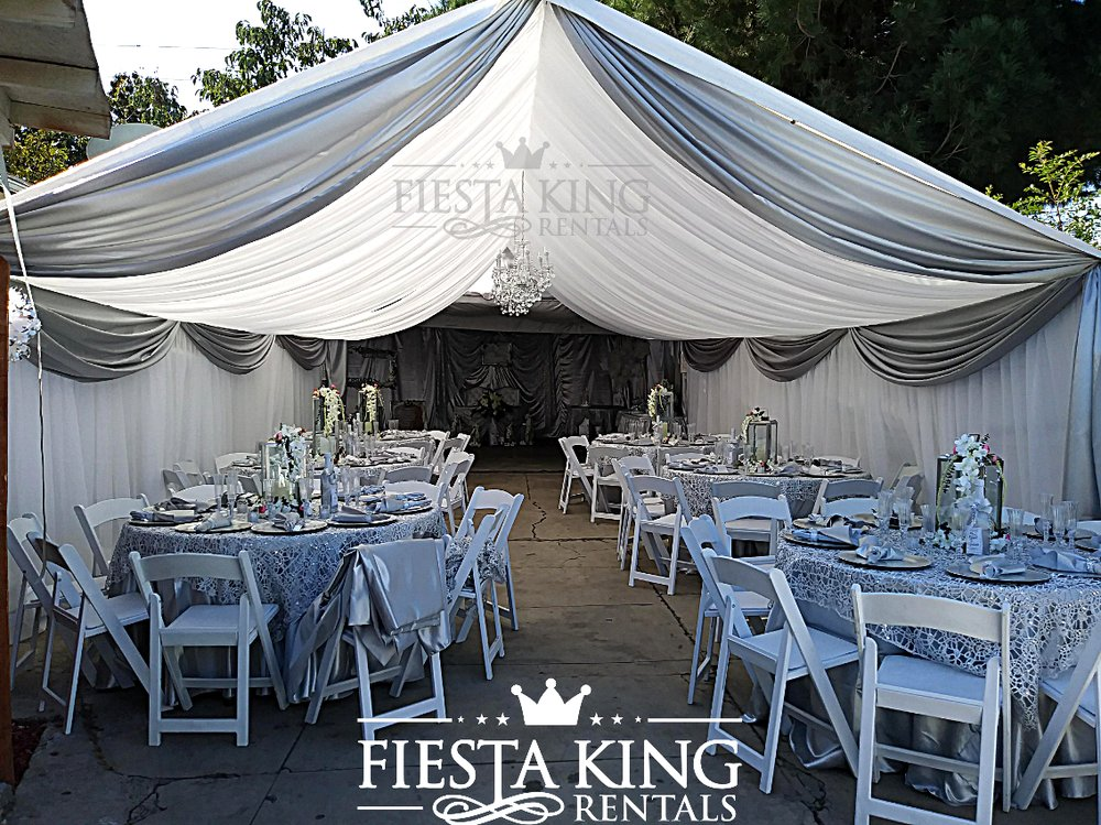 Tent Draping | Draped Canopy Los Angeles