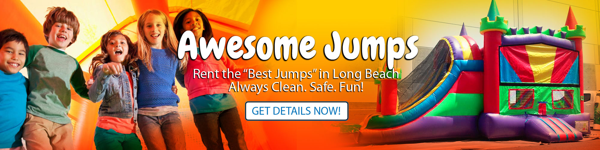 Combo Slide Jumper Bouncy House Rentals Los Angeles