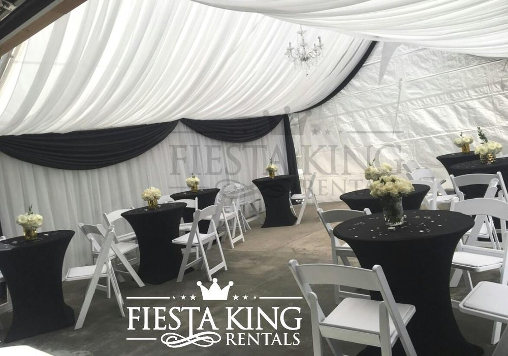 Full Drape Canopy | Tent Draping Decoration