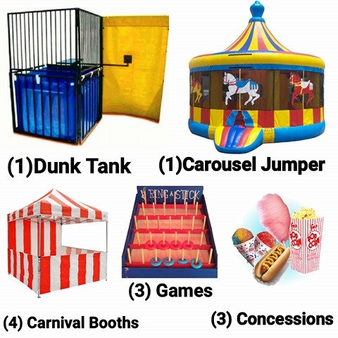 Carnival Package #3 (Complete Deal)