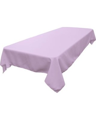 Rectangle Tablecloth (Polyester/Lavender)