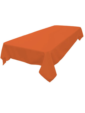 Rectangle Tablecloth (Polyester/Orange)