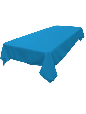 Rectangle Tablecloth (Polyester/Turquoise)