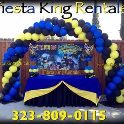 Balloon Arch 7'x8'   ($225 each)