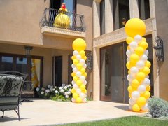 Balloon Columns 8ft   ($105 each)