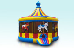 Carousel Bounce House 3in1