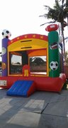 13'x13' Sports Jumper w/basketball hoop