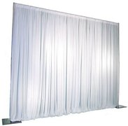 White Pipe and Drape (7'x10')
