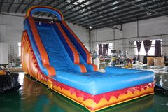 22ft Lava Slide with pool