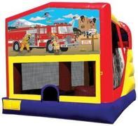 Themed Fire Truck Rescue 4in1 Combo LARGE