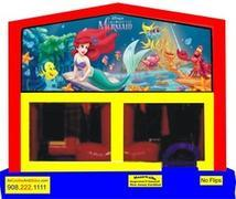 Themed Disney Little Mermaid 6in1 Combo WITH SECRET TUNNEL